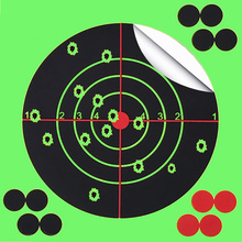Alvo de tiro ao alvo 14x14 cm respingo flor alvo 5.5 Polegada adesivo reatividade tiro alvo para arma/rifle/pistola binders