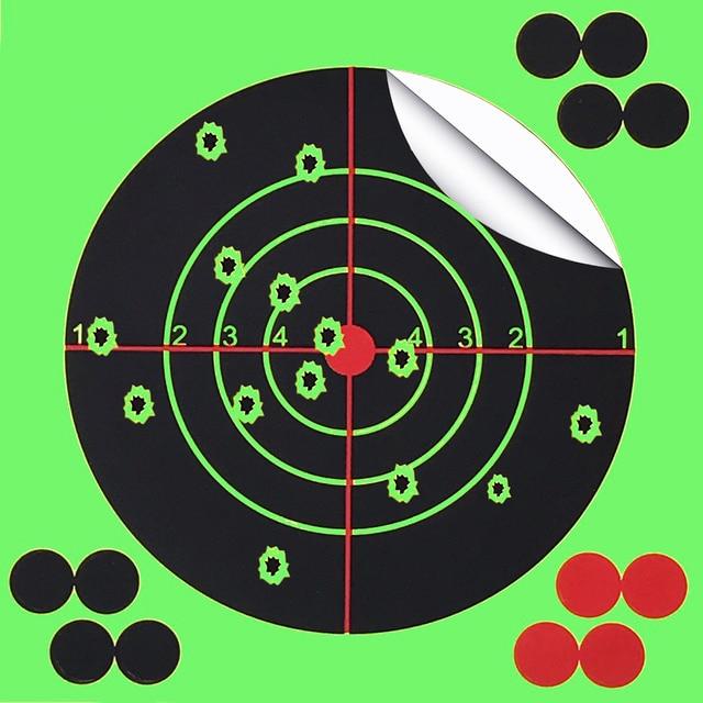 Strzelanie do celu 14X14CM Splash Flower Target 5.5 Cal reaktywność kleju strzelaj cel cel do pistoletu/karabinu/pistoletów