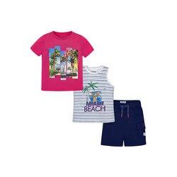 Babys Sets BÜRGERMEISTER 10687337 set von kleidung für kinder T-shirt beine hemd shorts mädchen und jungen