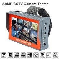 Anpviz 5MP AHD CCTV Tester 4 In 1 For AHD TVI CVI CVBS Analog Camera Security Monitor With 4.3 Inch LCD Screen 5V 2A, 12V 1A