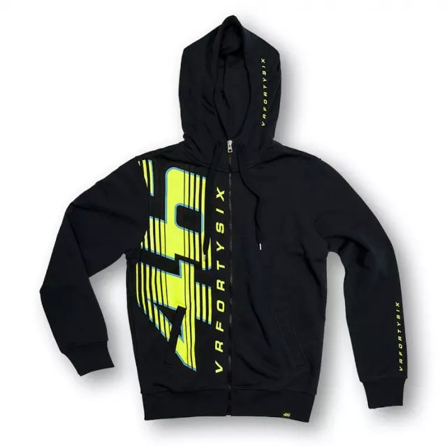 free shipping 2016 NEW Racing Valentino Rossi VR46 Large 46 Moto GP Hoodie Navy Sports MOTOGP