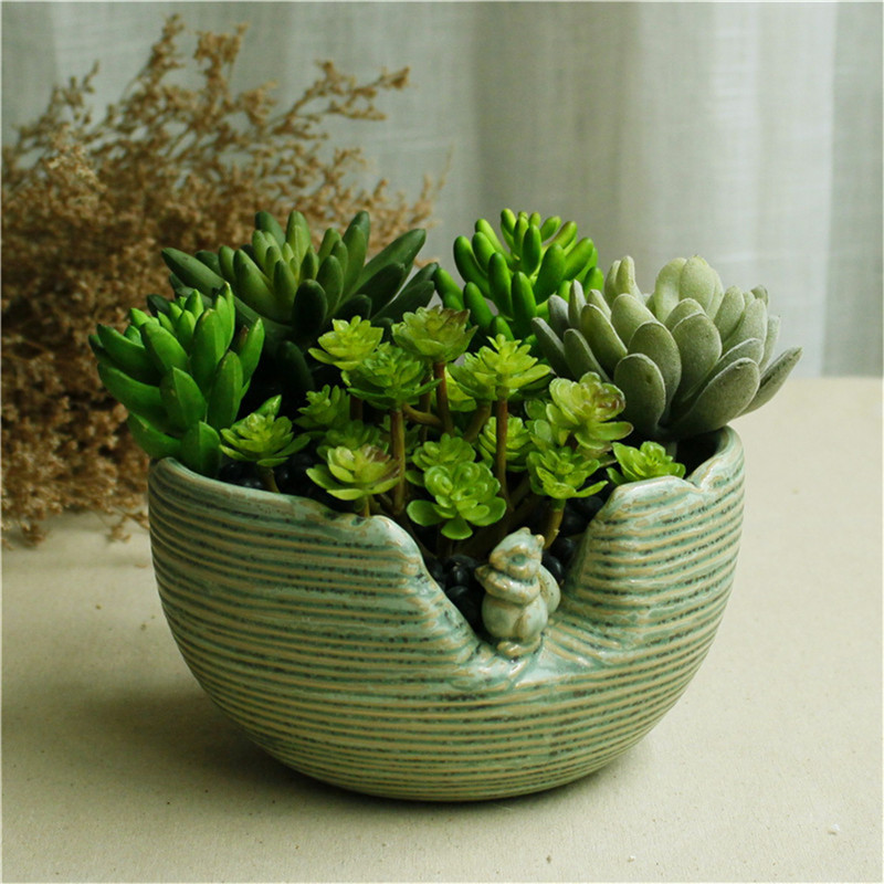 Cute Indoor Herb Garden Pots Wedding Favors And Gifts Ceramic Terracotta Succulent Plant Pot Supplies Flower In Planters From