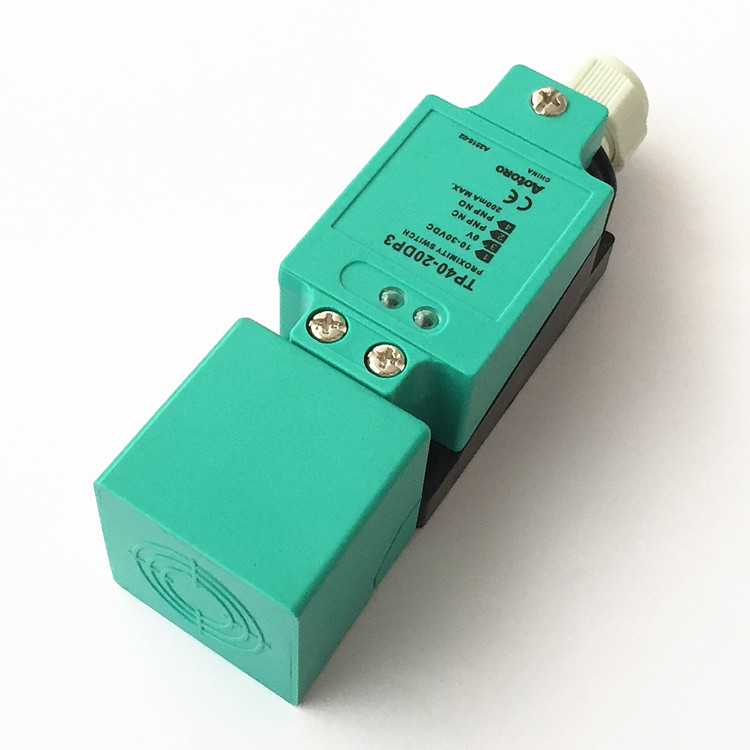 Laser Distance TP40-20DP3 Electric Proximity Sensor Swich Flat Type 20mm PNP NO NC