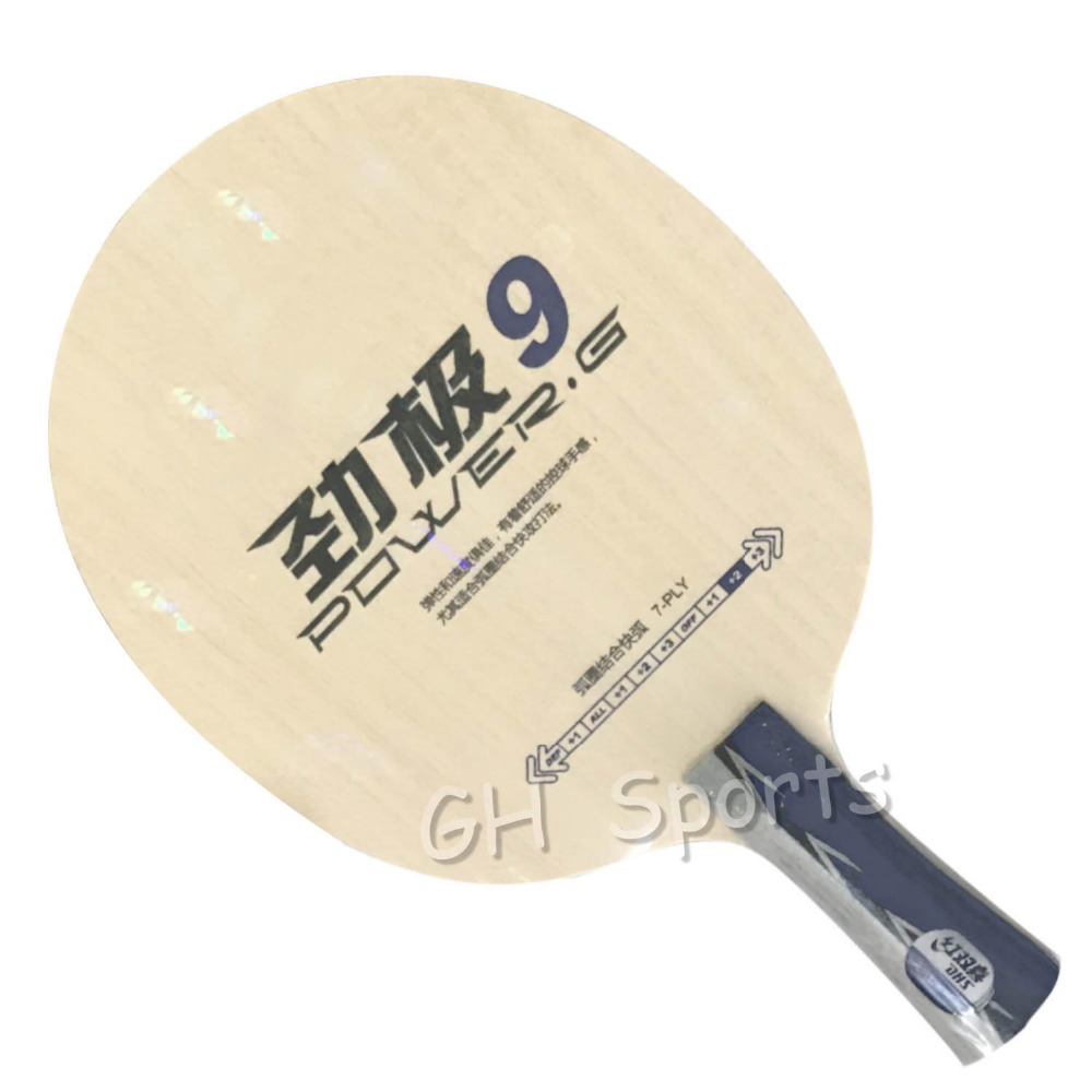 DHS POWER.G9 PG9 PG 9 PG.9 7-Ply OFF++ Table Tennis Blade for PingPong Racket table