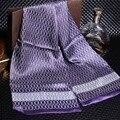 160*28 cm 2016 de la moda famoso de la marca 100% Bufanda de Seda de los hombres Nuevo Estilo Masculino foulard Bufandas cachecol Impresa Primavera otoño de cuello Blando