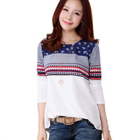 Plus Size T Shirt Women Summer 2016 Tee Shirt Femme Poleras De Mujer Kawaii Cotton T