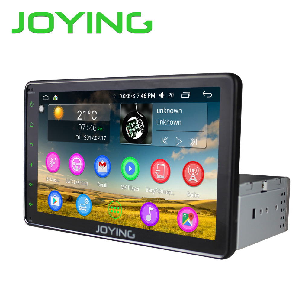 free shipping joying 1din 8 hd touch screen android 6 0. Black Bedroom Furniture Sets. Home Design Ideas