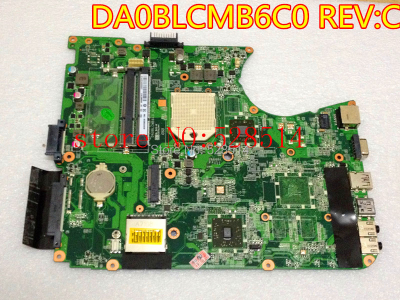 original  A000076380 LAPTOP motherboard FOR toshiba satellite C655D l655d p/n:DA0BLCMB6C0 100% Test ok