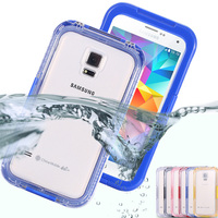 S5 S4 S3 Waterproof Cool Transparent Case For Samsung Galaxy S3 S4 S5 I9600 Phone Cover