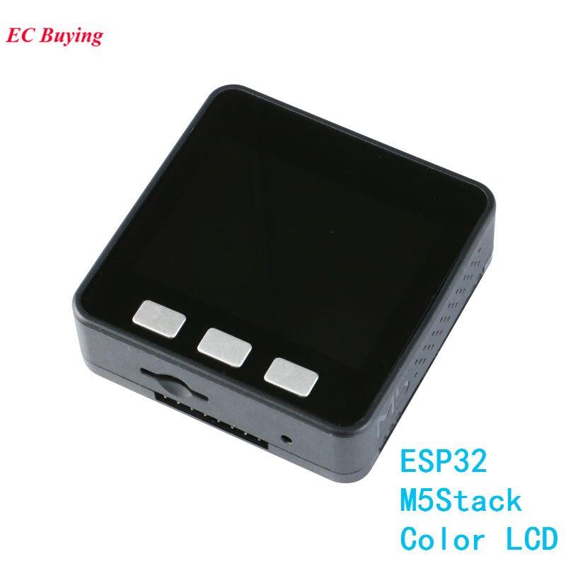 M5Stack MicroPython ESP32 Module pour Arduino Noyau De Base DE PCB GROVE ESP-32 Développement Conseil Couleur LCD WiFi BLE bricolage