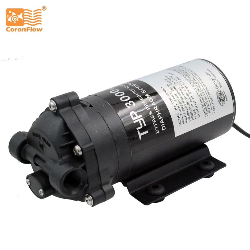 Coronwater 300 gpd фильтр для воды RO Booster насос обратного осмоса питьевой воды 3000NA