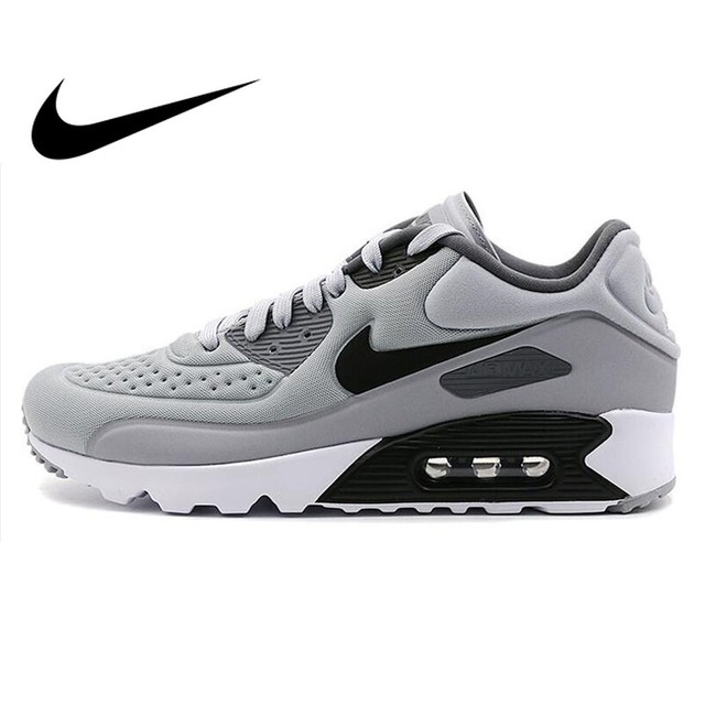 265f7cbf US $268.55 |NIKE AIR Breathable MAX 90 ULTRA SE Original Authentic Men's  Running Shoes Sneakers Sport Outdoor Walking Jogging 845039-in Running  Shoes ...