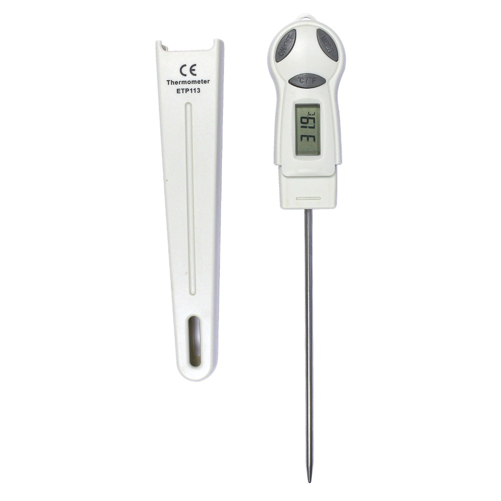 all-sun ETP113 Digital Thermometer Portable Temperature Meter High Precision Electronic Thermometer With Stainless Probe цена 2017