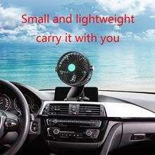 12V/24V 360 Degree All-Round Adjustable Car Auto Air Cooling Single Head Fan With Clip Low Noise Air Fan Car Acar Accessory 12v 24v car air conditioner fan portable ventilateur mini fan silent 360 degree rotating adjustable car air cooling fan blower