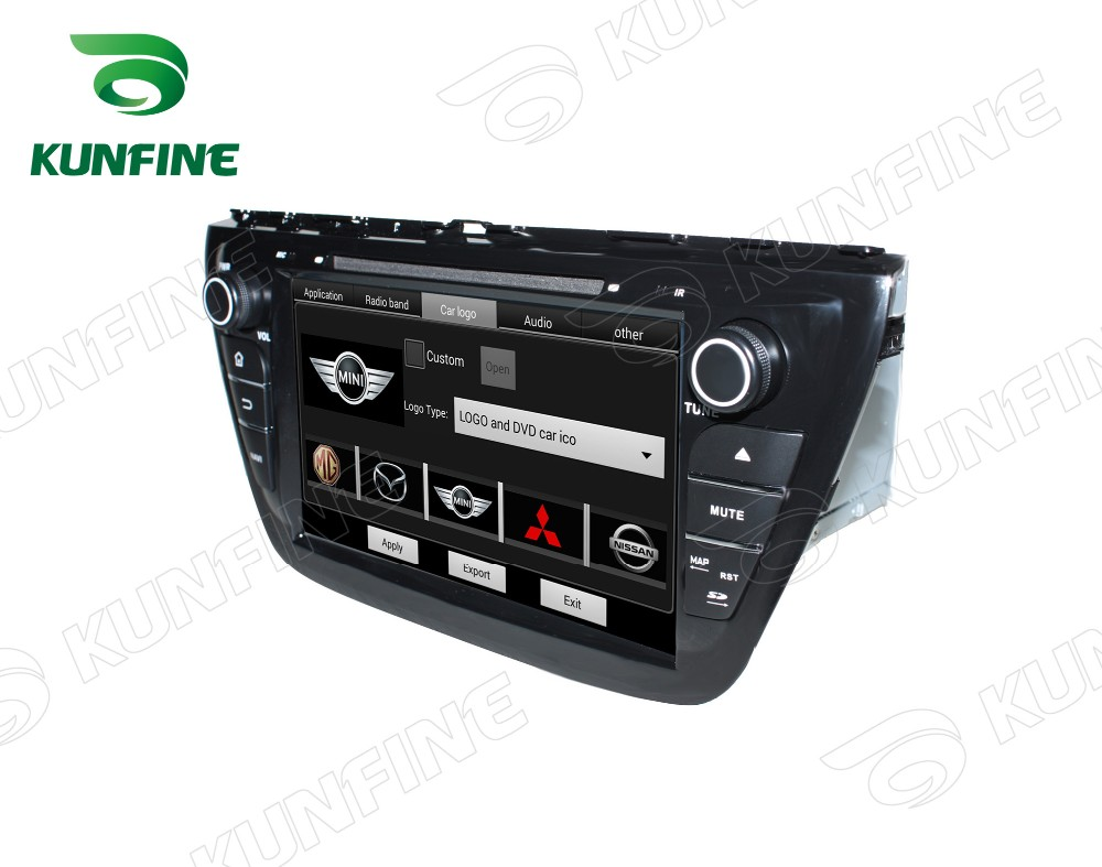 Car dvd GPS Navigation player for SX4 2014 8 inch E