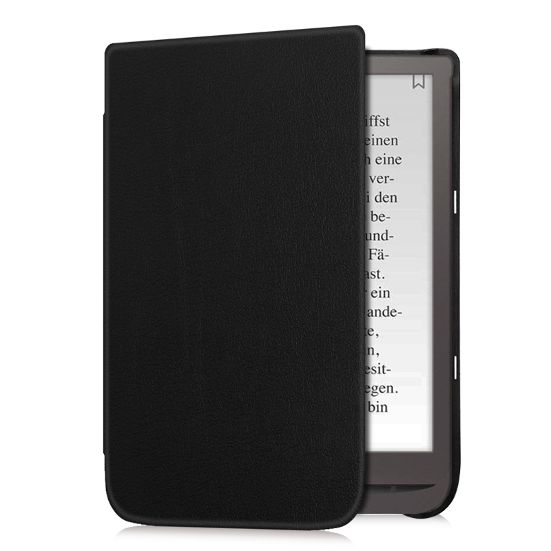 BOZHUORUI Smart Cover Case for 7.8 PocketBook 740 InkPad 3 eReader with Auto Wake/Sleep Magnetic Ultra-thin PU Leather CoverBOZHUORUI Smart Cover Case for 7.8 PocketBook 740 InkPad 3 eReader with Auto Wake/Sleep Magnetic Ultra-thin PU Leather Cover