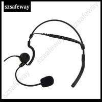 uv 5r uv Talkie Walkie מאחורי אוזניות ראש עם קו דחיפה PPT גדולה לדבר על KENWOOD ו Baofeng UV-5R KG-UVD1 (2)