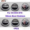 Good Quality 99mm 1pcs Label Car Tail Boot Emblem Cap Auto Rear Trunk Logo Cover For
