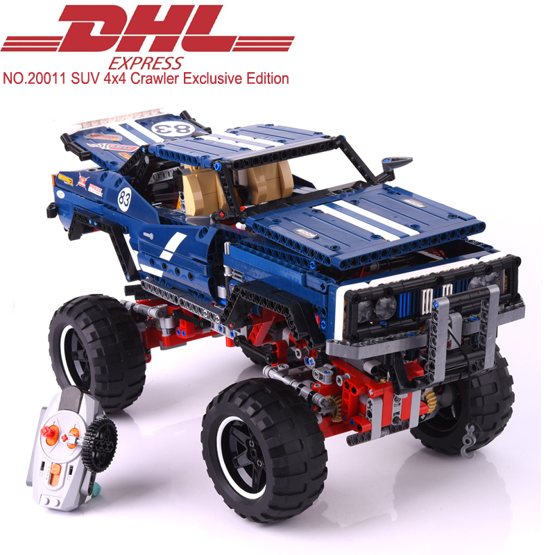 1605Pcs Lepin Technic SUV 4x4 Crawler Exclusive Edition Model Building Kits Blocks Bricks Toy For Children Gift Compatible 41999