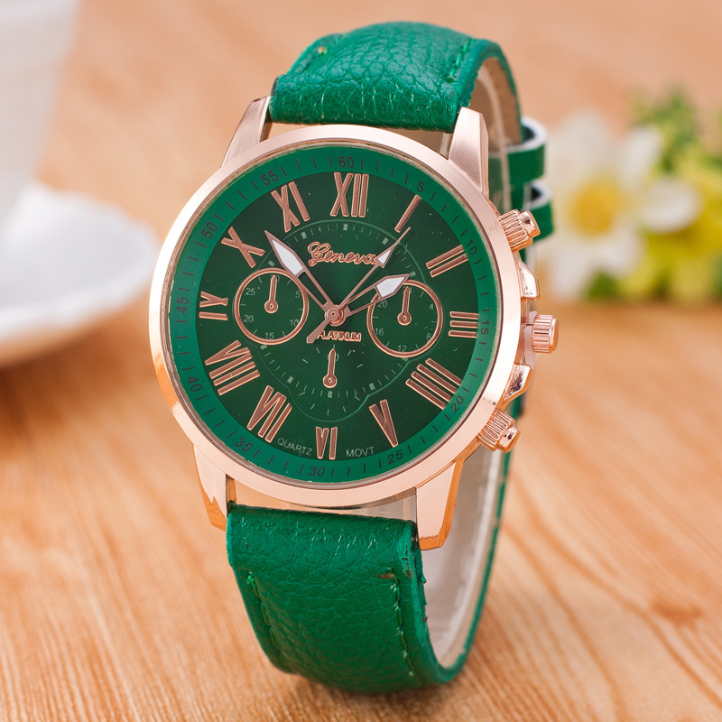 reloj mujer Original Geneve Br New Wrist font b Watches b font For Men Women Quartz