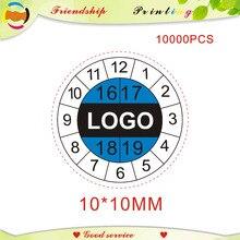 Il disegno e trasporto libero etichette di carta Fragili gli adesivi di garanzia tempo etichetta stampa di etichette di etichetta personalizzata 10*10 MILLIMETRI