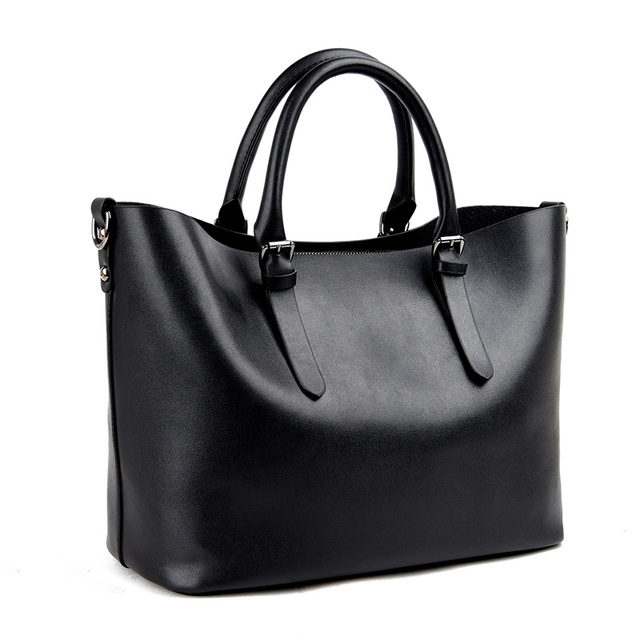 Fashion Hobos Women Bag Ladies Brand Leather Handbags Spring Casual Tote Bag Big Shoulder Bags For Woman 2