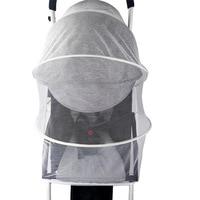 Baby Winkelwagen Klamboe Insect Shield Zuigelingen Bescherming Mesh Kinderwagen Accessoires Voor 90% Kinderwagen Kinderwagen Klamboe 2
