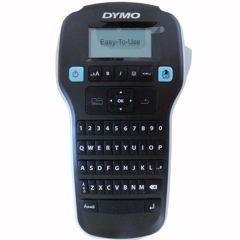 Etiqueteuse Compatible Dymo LM160 pour Dymo D1 6/9/12mm étiquette ruban Cassette DYMO étiquettes imprimantes adaptées pour 40913 45013 bandes d'étiquettes