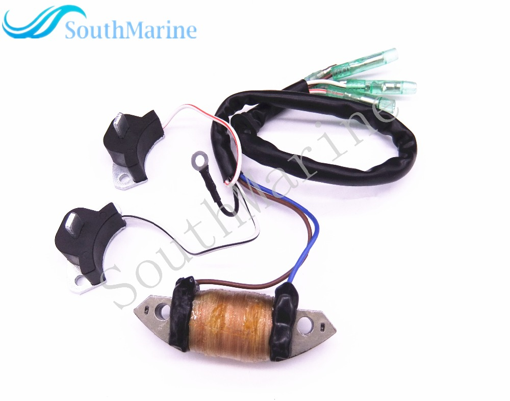 Boat Motor 30F-01.02.04.00 Charging Coil Assy For Hidea 2-Stroke 30HP 25HP 30F 25F Outboard Engine