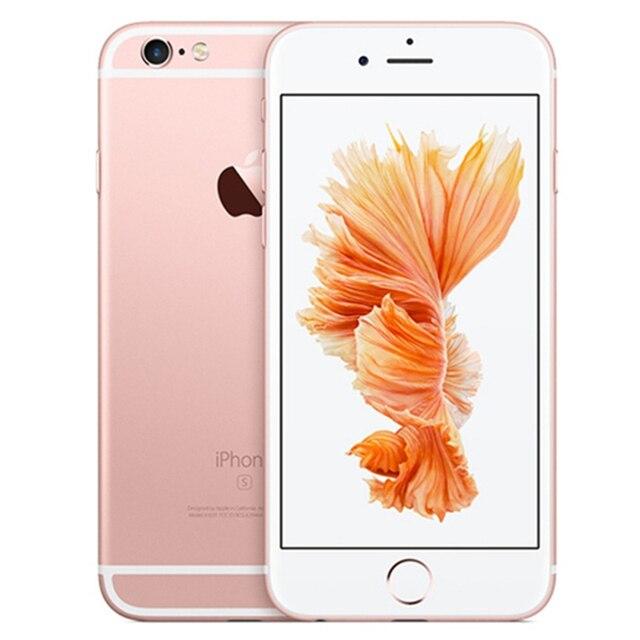 100% Original Unlocked iPhone 6s Plus 5.5 Inches Dual Core 2GB RAM 16/64GB ROM IOS 12MP Camera Fingerprint LTE 4G Mobile Phone 3