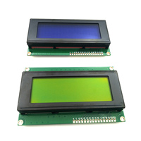 1PCS Smart Electronics LCD Module LCD Monitor Display 2004 2004 20 * 4 20X4 5V Blue Character / Green Screen Backlight