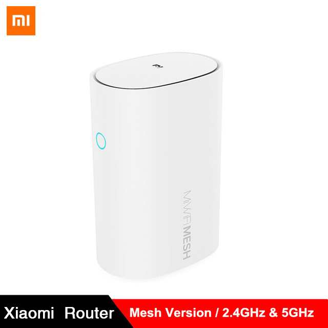 Original Xiaomi Mijia Router Mesh 2.4G/5G Wifi High Speed 4 Core CPU 256MB Gigabit Power 4 Signal Amplifiers For Xiaomi Home