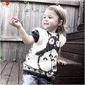 AD galesaur Bonito Crianças Camisolas meninos meninas blusas projeto coletes para a primavera outono das crianças roupas de algodão de qualidade 12M-5A