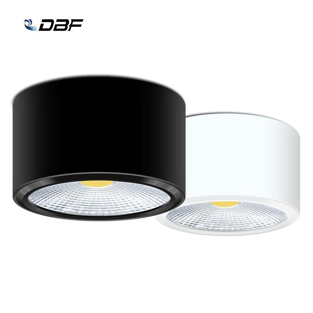 [DBF] Ultra-fino LEVOU Superfície Montado Downlight Alta Brilhante Epistar COB Pode Ser Escurecido 3 W 5 W 7 W 10 W Rodada Teto Lâmpada Spot AC 110 V/220 V