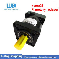 NEMA23 Low Noise Ratio 4:1 6:1 10:1 Planetary Gear Reducer Gearbox High Precision Planetary Reducer for Stepper Motor