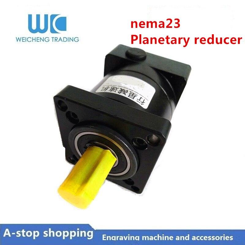 NEMA23 réducteur planétaire 4:1 6:1 10:1 réducteur planétaire réducteur planétaire de haute précision pour moteur pas à pas