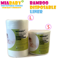 Happyflute 100 Biodegradable Flushable Nappy Liners Cloth Diaper Liners 1 Roll Free Shipping