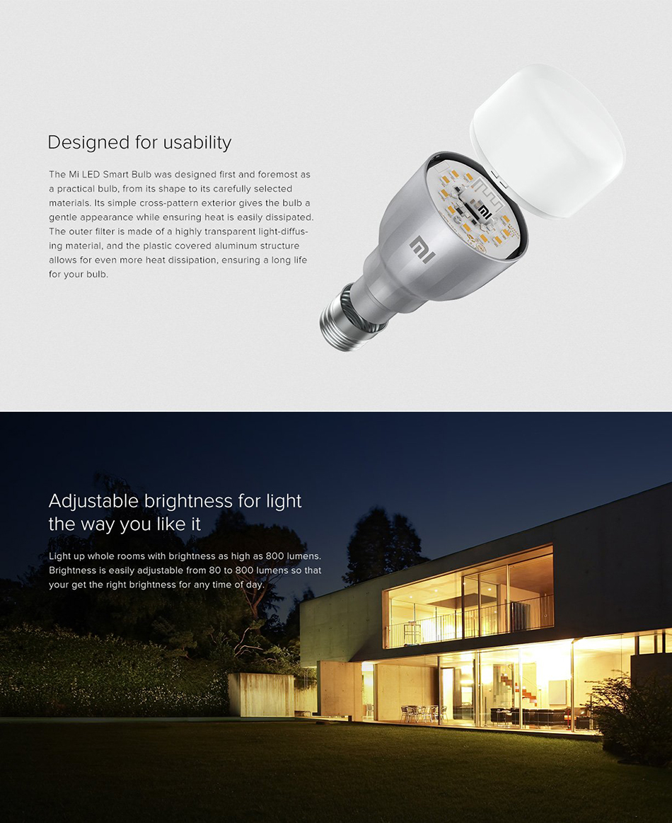 Xiaomi Mi Smart LED Smart Bulb Essential (White and Color) 4