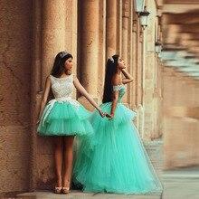 Sexy Erstaunliche 2016 Wunderschöne Abendkleider Schatz Kurzarm Long Green Ballkleid abendkleid Formale Frauen Prom Kleider