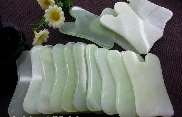 Natural Jade Massage Tool [2 Pieces]