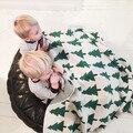 Manta de bebé lindo árbol de Punto A Cuadros Para El Sofá Cama Cobertores Colcha Mantas Toallas de Baño Alfombra de Juego de Regalo