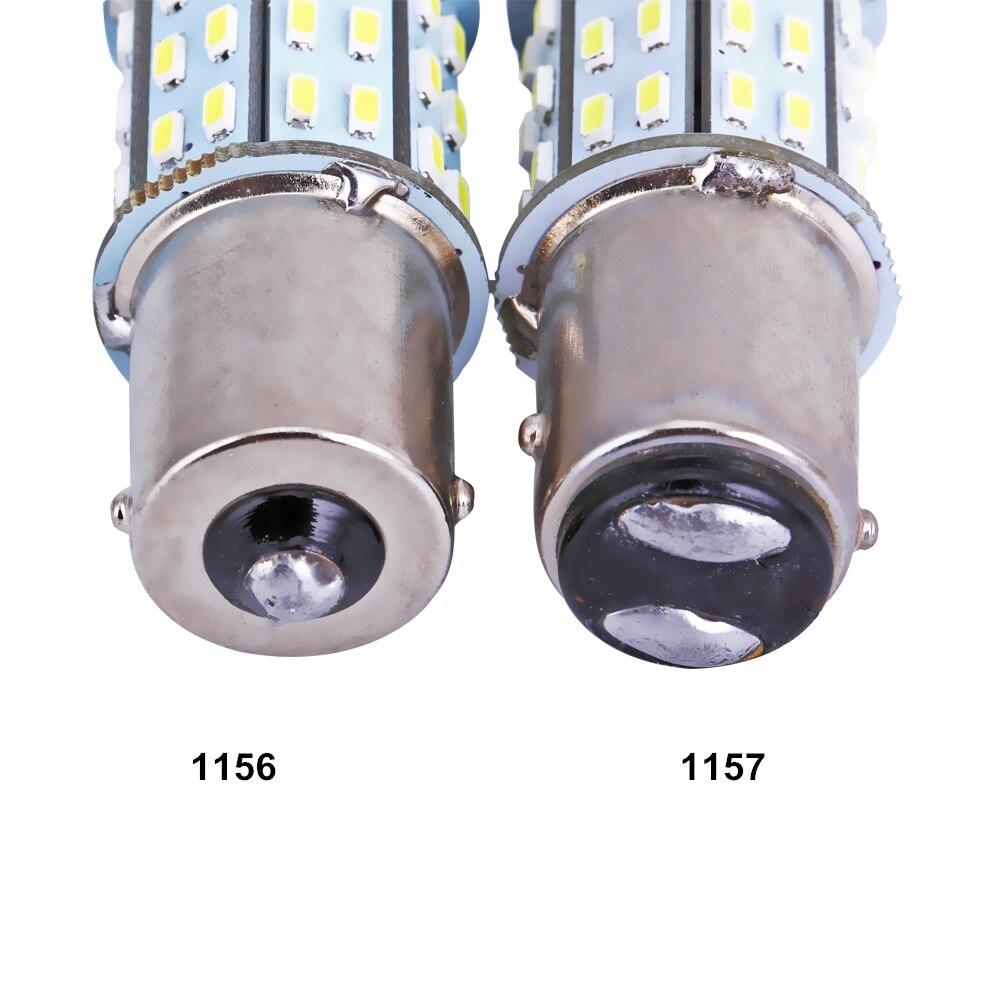 50 шт. внешний свет S25 Ba15s BAY15D 1156 1157 светодиодный 50smd светодиодный 3014 указатель поворота светодиодный машина автомобиль свет задние лампы стоп сигнала P21W свет