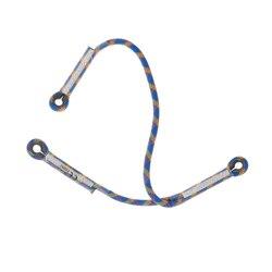 Profesjonalne 22KN 1PC Y kształt dynamiczna smycz linowa regulowana 75CM niebieski odkryty wspinaczka skałkowa wyposażenie ochronne liny wspinaczka Accessor w Akcesoria wspinaczkowe od Sport i rozrywka na