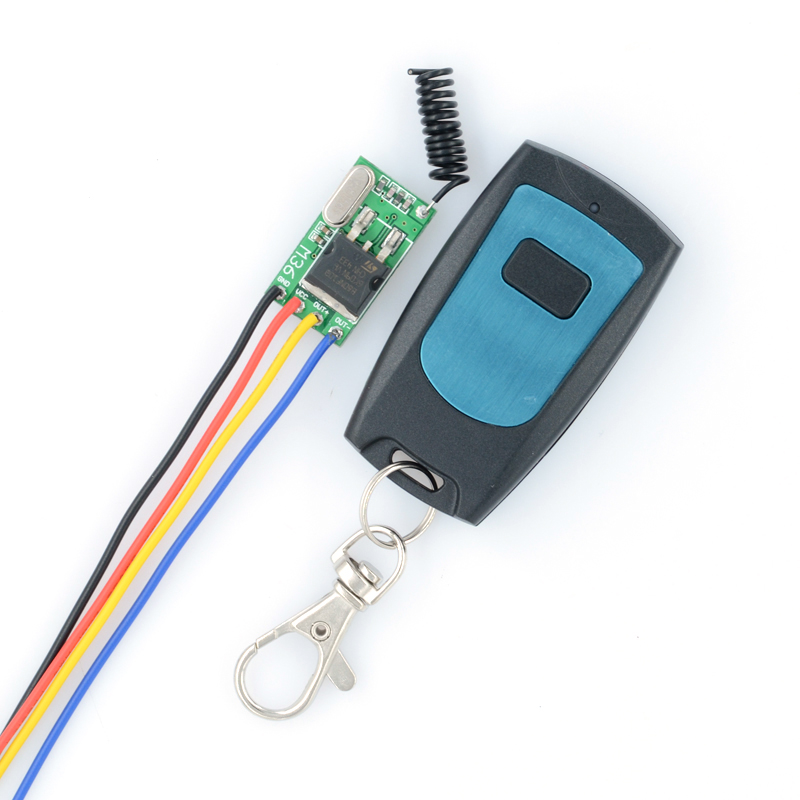 DC6V-36V 12V 24V 16V 28V 36V Car Bus Truck Train Wireless Remote Control Switches 315Mhz Mos Receiver No Sound With transmitter