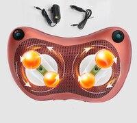 Infrared Heating 4d Kneading Electric Massage Pillow Vibrating Neck Body Massager Hammer Shiatsu Shoulder Back Massage Massages