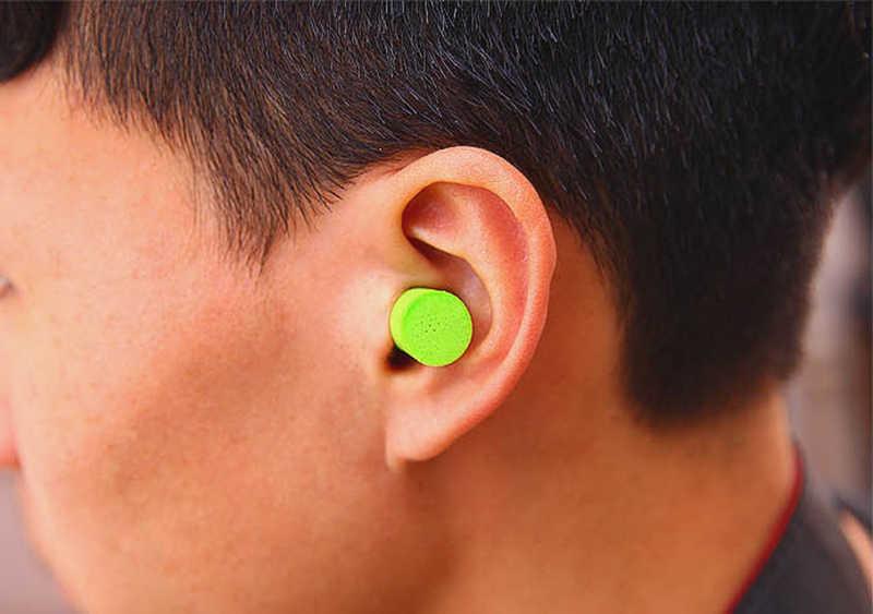 Мягкая Пена Беруши Путешествия сна шумоизоляция наушники с шумоподавлением открытый охотничья губка слуховой протектор 1 пара