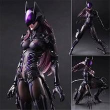 DC Comics Variant Play Arts Kai Catwoman TETSUYA NOMURA 10″ PVC Action figure