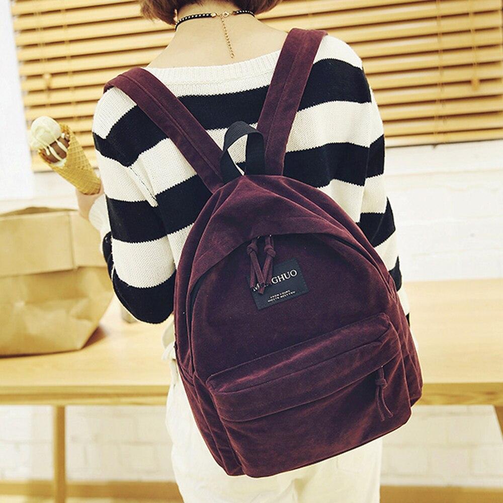 mulheres mochila formal mochilas school Size : L29*w12*h35cm