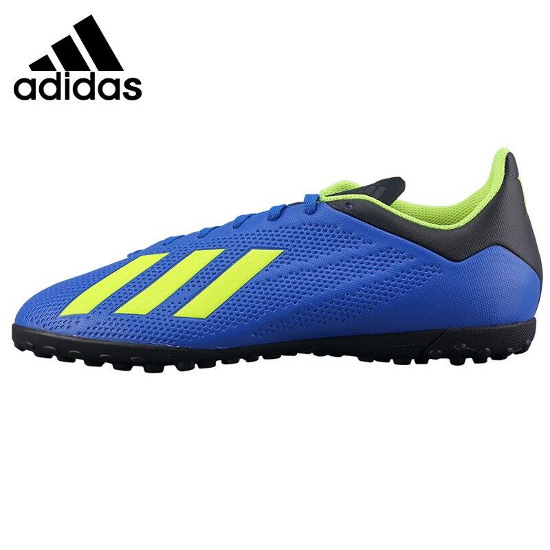 Original New Arrival Adidas X TANGO 18.4 TF Men's Soccer Shoes Sneakers
