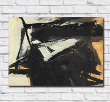 Large Size Painting franz kline untitled 100% handmade Oil Art Home Decor Living Room Modern Canvas Paintings No Frames